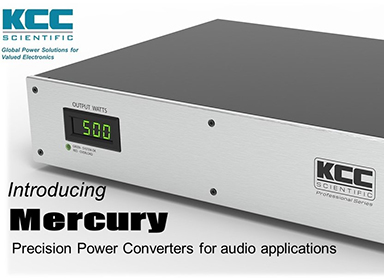 NEW PRECISION FREQUENCY CONVERTER FOR AUDIO LAUNCHES AT ROCKY MOUNTAIN AUDIO FEST