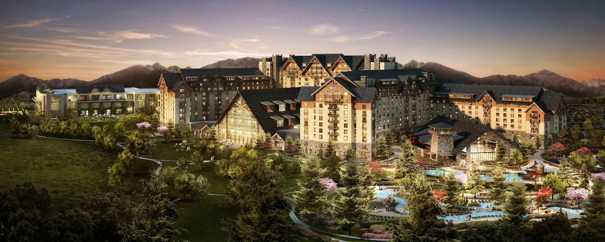 Gaylord Rockies Resort and Convention Center is Accomodation for the Rocky Mountain Audiofest